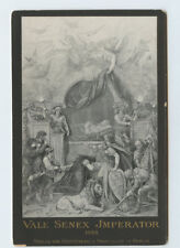 Vintage Cabinet Card Deathbed Kaiser Wilhelm I Emperor Germany King of Prussia