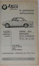 Advert Pubblicità 1964 BMW 700 LS LUXUS