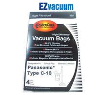 Panasonic AMC-J3EP Type C-18 HEPA Canister Vacuum Bags for MC-CG800 - Total 12 B