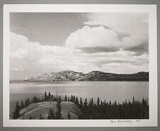 BONNIERE,16X20 SILVER GELATIN PHOTOGRAPH,S/N, LAKE LABARGE, YUKON, CANADA