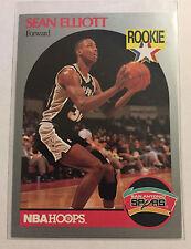 1989-90 nba hoops Sean Elliott Rookie RC #267 Spurs