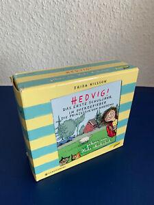 Hedvig! Geschenkbox: Erstes Schuljahr / Pferdefieber / Prinzessin Hardemo (8CDs)