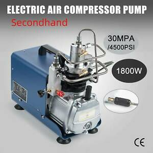 Secondhand Air Compressor Pump Electric High Pressure System Rifle 110V 30MPA