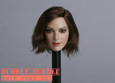 """1/6 Female Head Sculpt Anne Hathaway GC012B For 12"""" PHICEN Hot Toys Figure USA"""
