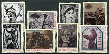 Albania 2018 MNH National Art Grafika Graphics 8v Set Stamps