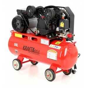 Druckluft Kompressor Kolbenkompressor 50 liter 2.8kW 480l/min 8bar 230V/50Hz
