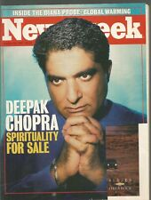 Newsweek October 20 1997 Deepak Chopra Spirituality for Sale/Why We Love Gurus