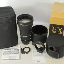 Sigma HSM DG 300mm f/2,8 APOEX für NIKON/neuwertig/komplett // vom Fotohändler