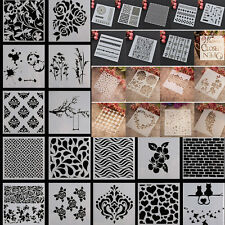 Malerei Schablone Reusable Stencil Template Wall Painting Paint Home Decor DIY