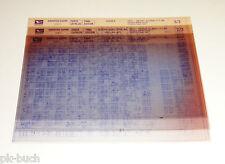 Microfich Ersatzteilkatalog Daihatsu Cuore Typ L501 Stand 12/1998