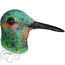 Latex Full Head Animal Colourful Hummingbird Fancy Dress Up Carnival Party Mask