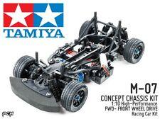 TAMIYA 1:10 M-07 CONCEPT Chassis High-Performance FWD Race Car Kit TAM58647