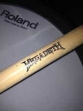 Megadeth Drum Stick Late Nick Menza's