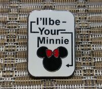 Disney Pin *I'll be Your Mickey* & *I'll be Your Minnie* Icon Set - Minnie ONLY!