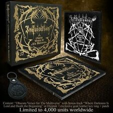 Inquisition - Obscure Verses for the Multiverse CD 2013 limited box black metal