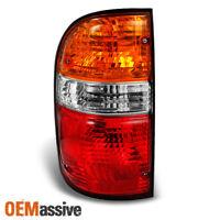 Fits 01-04 Toyota Tacoma Pickup Red Amber Taillight Brake Lamp Left Side Set