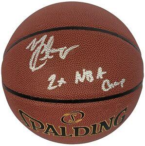 Mario Chalmers autographed signed inscribed basketball NBA Miami Heat JSA COA