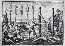 MULAI ISMAIL لاي إسماعيل MAROC EXECUTION ALCAIDE MELEC 1705  FOLTER MOROCCO