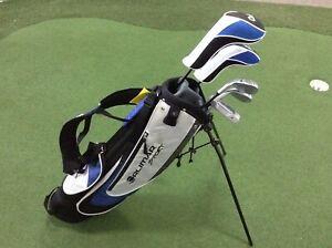 LEFT HAND Orlimar Sport VT Junior Golf Set inc Bag - Suitable for ages 9 -12
