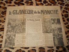 Journal LE GLANEUR DE LA MANCHE, n° 4001, 19/03/1938 - Saint Hilaire du Harcouët