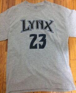 Minnesota Lynx Maya Moore #23 Shirt Large WNBA Women Basketball
