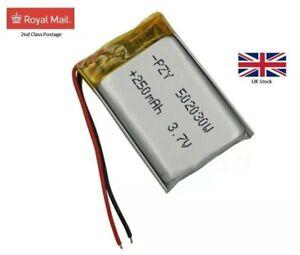 Nextbase 402G Dash Cam Camera Battery 3.7V 250 mAh Polymer Li ion FROM UK SELLER