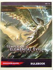 D & D Temple of Elemental Evil-Rulebook