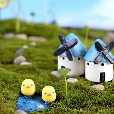 5Pc Miniature Mini Chick Christmas Diy Resin Fairy Home Garden Craft Decoration