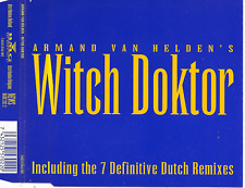 ARMAND VAN HELDEN - Witch Doktor (DUTCH REMIXES) CDM 9TR  House 1994 Benelux