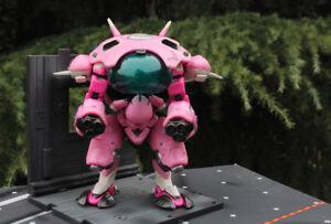 Overwatch DVA D.VA Reinhardt Genji HANZO Tracer Mccree cute Figure toy 17cm