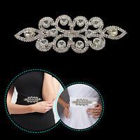 Rhinestone Patch Diamante Motif Sparkling Crystals for Embellishment Dress Craft