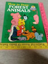 How To Draw Forest Animals Watermill Press