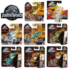 More details for jurassic world snap squad camp cretaceous & attitudes series clip on toy mattel