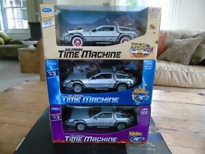 Welly Back to the future Full Set Boxed