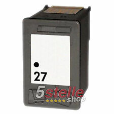 CARTUCCIA NERO HP 27 PER DESKJET 3320 3325 3420 3425 3520 3535 3550 3600 REMAN