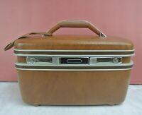 Vintage 1987 Samsonite Silhouette Hard Train Case Mirror Tray No Key