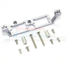 GPM Alum Frnt & Rear Gear Box 2-Speed Diff Lock Servo Mount Grey : TRX-4 / TRX-6