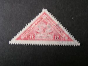 PARAGUAY, SCOTT # C99, 17p. VALUE 1935-39 AIR POST TOBACCO PLANT ISSUE USED