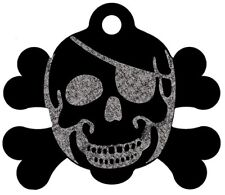 Pet ID Tags Skull Shape 8 Colors, Personalized Aluminum Dog ID and Cat ID