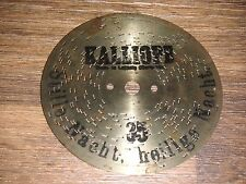 Stille Nacht, heilige Nacht Kalliope 14cm Blechplatte christmas disc music box