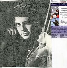 DALE ROBERTSON TALES OF WELLS FARGO ACTOR SIGNED AUTOGRAPH JSA AUTHENTICATED