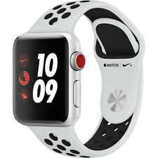 Apple Watch Series 3 38MM (GPS + CELL) Nike Edition Platinum/Black FQL52LL/A
