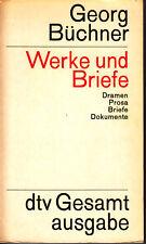 Georg Büchner - Werke und Briefe - Dramen Prosa Briefe Dokumente - Gesamtausgabe