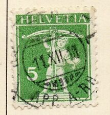 Switzerland 1909 Early Issue Fine Used 5r. 042856