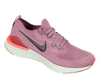 NIKE Women's Epic React Flyknit 2 Running Shoes sz 7.5 Plum Dust Ember Glow