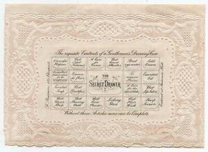 "1875 GREAT BRITAIN VALENTINE COVER ""THE SECRET DRAWER"", UNIQUE !!"