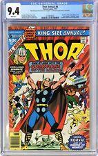 S564. THOR ANNUAL #6 Marvel CGC 9.4 NM (1977) SCARCE MANUFACTURING ERROR