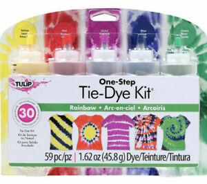 Tulip One-Step Tie Dye Kit Rainbow 59 Piece New