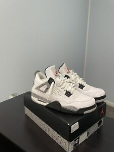 Air Jordan 4 OG Retro White Cement 2016 Size 10 PREOWNED WITH BOX