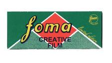 Fomapan B+W 120mm 200asa Film